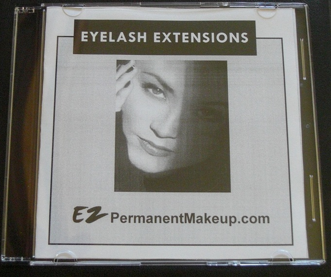 Lash Extensions Instructional DVD