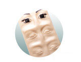 currently out of stock! 3-D Practice Skin-Eyes