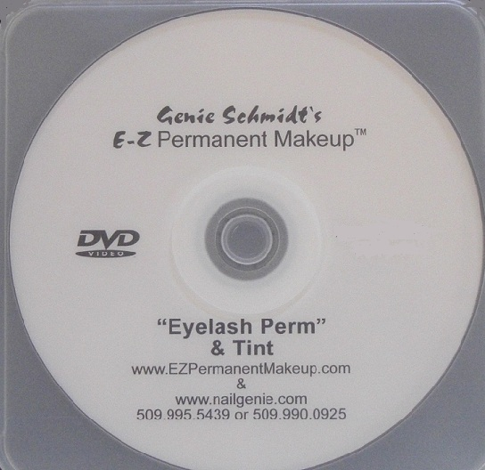 Eyelash Perm & Tint Instructional DVD