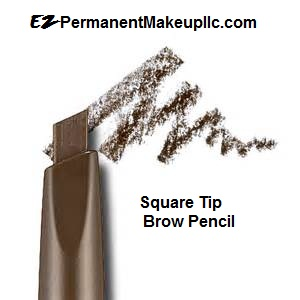 Square-Tip Eyebrow Pencil