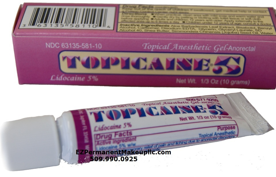 Topicaine 5 - 1/3oz